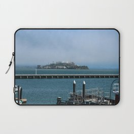 Alcatraz On A Foggy Morning Laptop Sleeve
