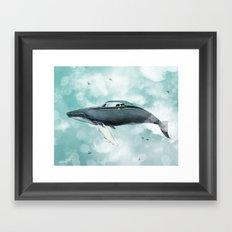 Humpback Camaro Framed Art Print