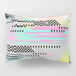 Glitch art effect Pillow Sham