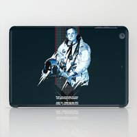 neil gaiman iPad Cases featuring Neil Armstrong Tribute by Largetosti