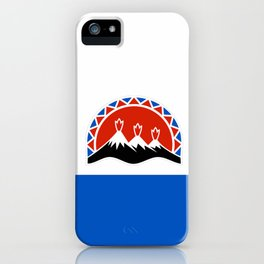 flag of Kamchatka iPhone Case