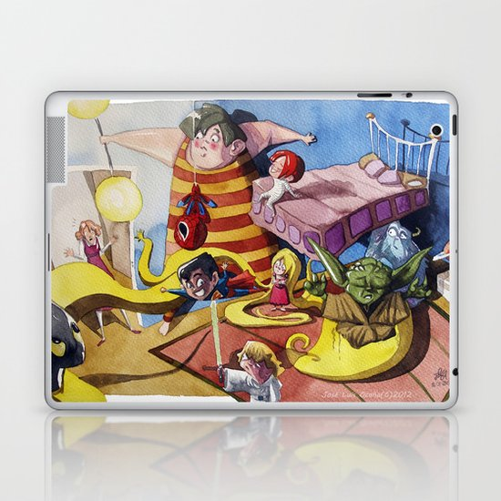 Friends´s meeting Laptop & iPad Skin