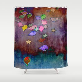 Hazy Shower Curtain