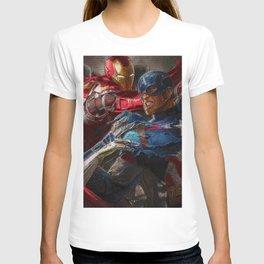 War of superhero T-shirt