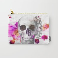 Braided Skull Carry-All Pouch