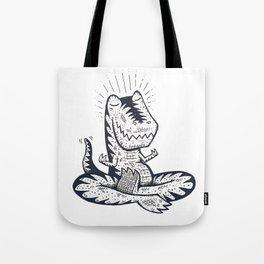 Namaste Rex Tote Bag