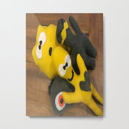 Scarboo babies series - FRED AND FRIENDS Metal Print