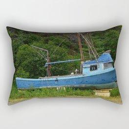 Stranded in Seldovia Rectangular Pillow