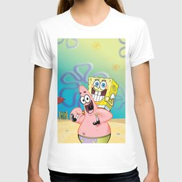 Yellow Zone (Spongebob and Patrick) T-shirt