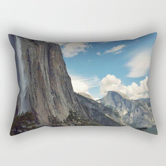 Mountains #clouds Rectangular Pillow