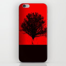 Red Maple iPhone Skin