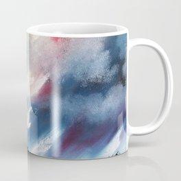 Moody Sunset, Dark Sunset, Abstract Sunset, Seascape, Sunscape, Skyscape Coffee Mug