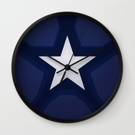 captain shield Wall Clock