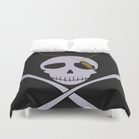 persona Duvet Covers featuring Persona 4 Kanji Tatsumi Uniform by Bunny Frost