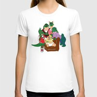 dinosaurs T-shirts featuring Dinosaurs by Dionisia Tzavalas