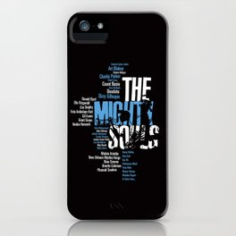 The Mighty Souls: Jazz Legends iPhone Case