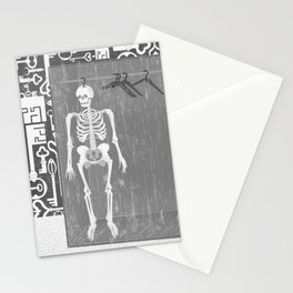 SKELETON IN THE CLOSET Stationery Cards