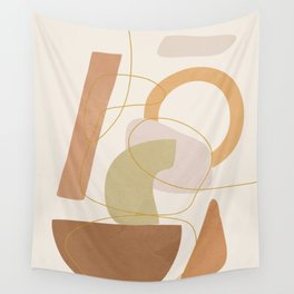 Abstract Modern Art 17 Wall Tapestry