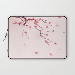 Oriental cherry blossom in spring 002 Laptop Sleeve