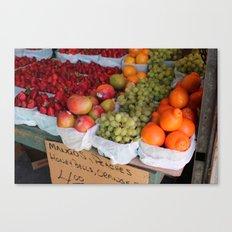 Les Fruits Canvas Print