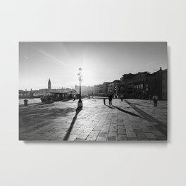 Dragged Into Sunlight Metal Print