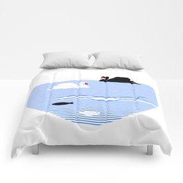 Black Swan White Swan Comforters