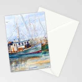 Fishing Boats (Namaste) Stationery Cards