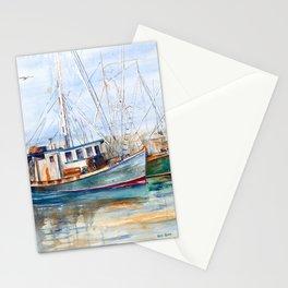 Fishing Boats (Namaste) Stationery Cards