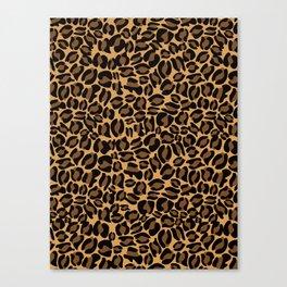 Leopard Print | Cheetah texture pattern Canvas Print