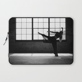 Ballet Dancer Silhouette Laptop Sleeve