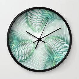 Ghost Busters || #society6 #buy #factal #portal Wall Clock