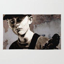 GUITAR BOY - urban ART Rug