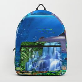 The Dolphin Family Backpack