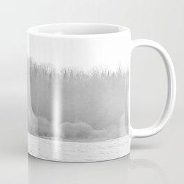 November Morning Hay Bales Coffee Mug