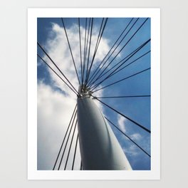 Mast Art Print