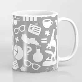Grey Scientist Coffee Mug