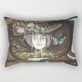 La source de l'amour Rectangular Pillow