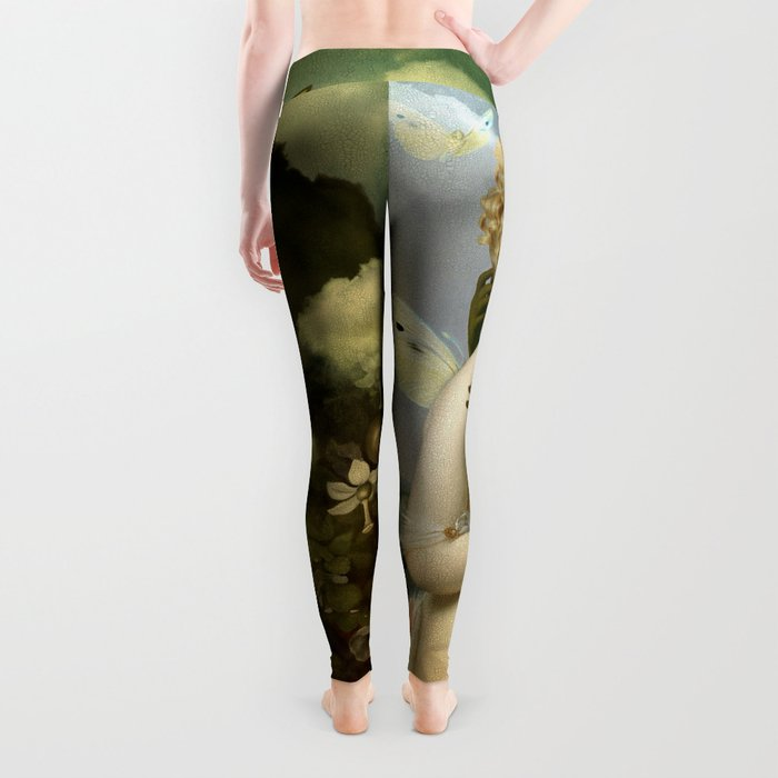 """The body, the soul and the garden of love"" Leggings"