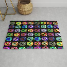 Mexican Mask Rug