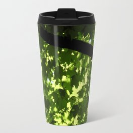 the light through leaves Travel Mug