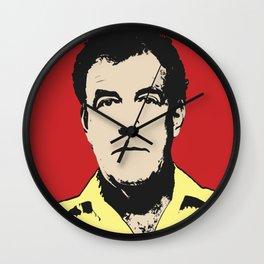Jeremy Clarkson Pop Art Wall Clock