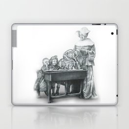 In which a cosmonaut is rendered quizzical Laptop & iPad Skin