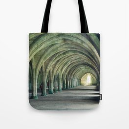 Fountains Abbey Crypt Tote Bag