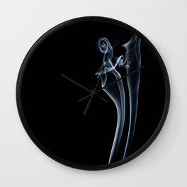 smoke couple 1 Wall Clock