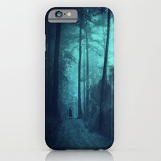 Light in a cyan forest Slim Case iPhone 6