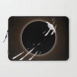 Meteor Shower Over Eclipse Laptop Sleeve
