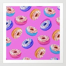 Donuts Party I Art Print