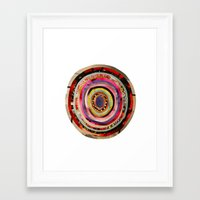 portal Framed Art Prints featuring Portal  by Emily Kenney