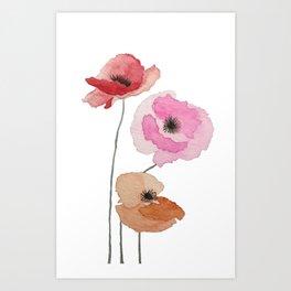 All the Pretty Poppies Art Print