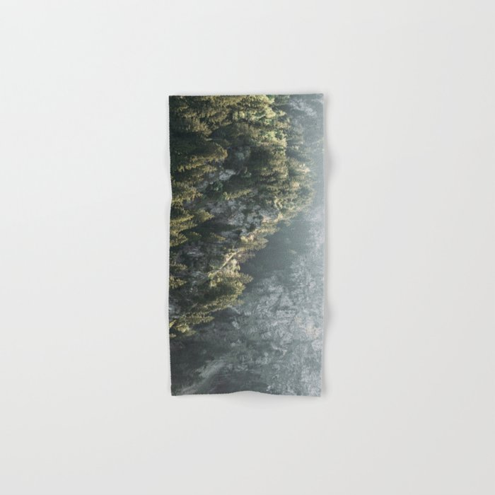 Mountain Lights - Landscape Photography Hand & Bath Towel